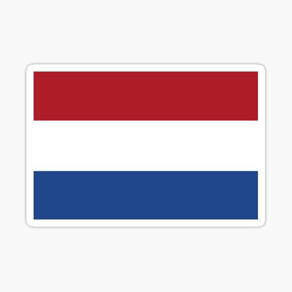 Netherlands Sticker