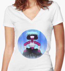 Garnet Training Women's Fitted V-Neck T-Shirt