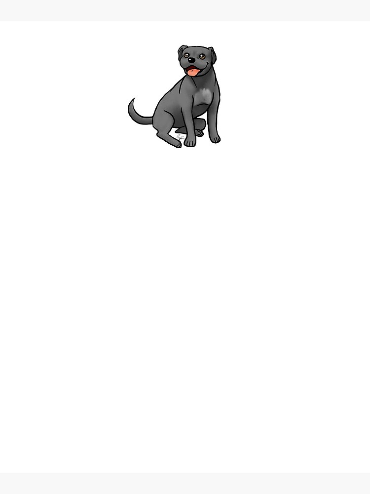 American Pit Bull Terrier - Black by jameson9101322