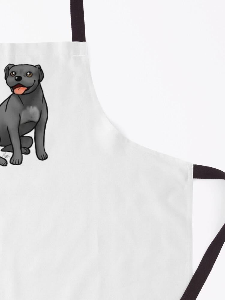 Alternate view of American Pit Bull Terrier - Black Apron