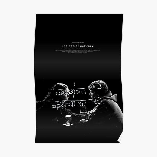 The Social Network Alt-FIlm Poster Poster