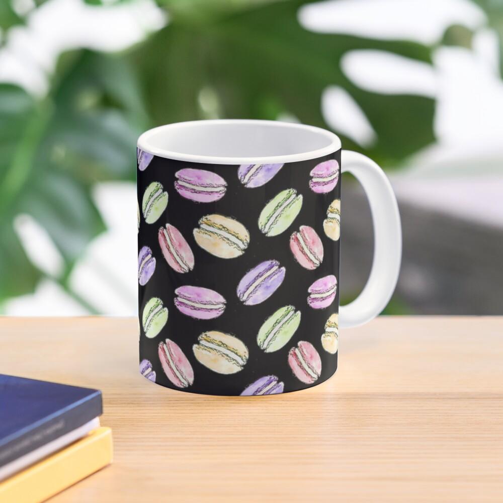 Watercolour Macaroon Design Mug
