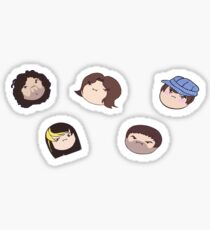 Game Grumps - Arin, Danny, Ross, Barry, & Suzy stickers Sticker
