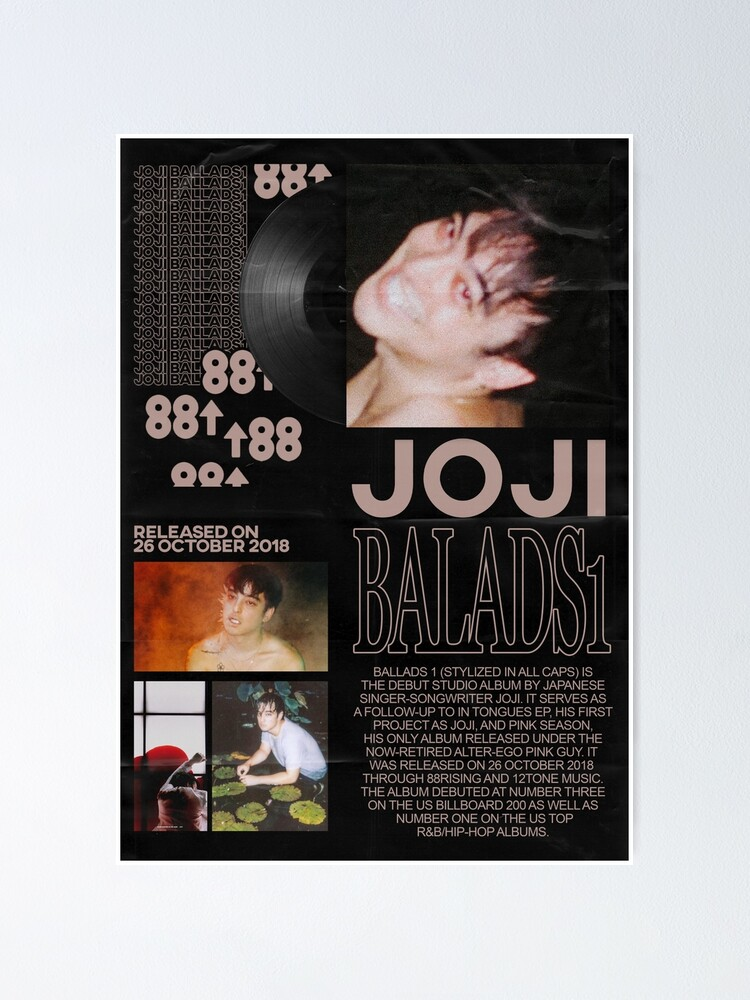 Alternate view of JOJI BALLADs1 POSTER Poster