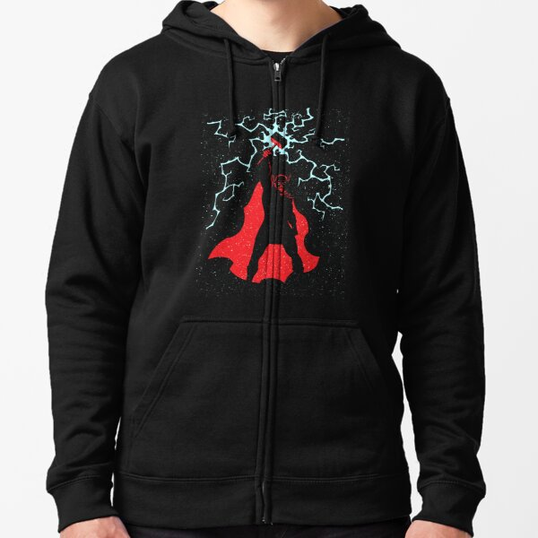 The god of thunder and lightning in Norse mythology Zipped Hoodie