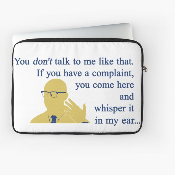 Quotes and quips - if you have a complaint Laptop Sleeve