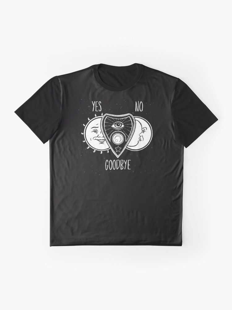 Alternate view of Ouija Board Graphic T-Shirt