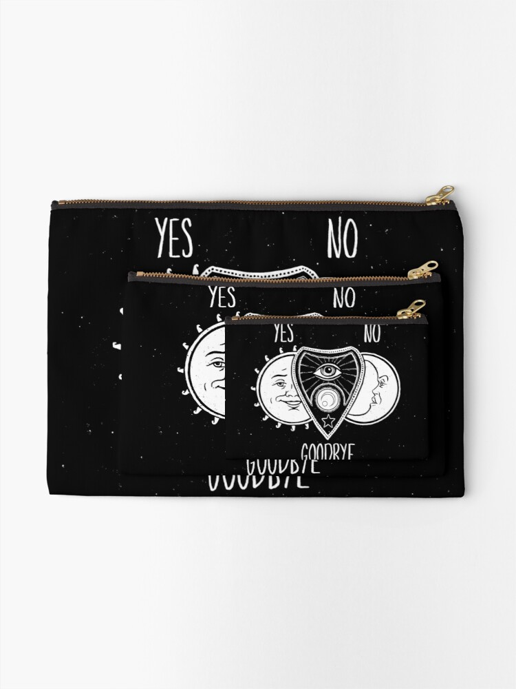 Alternate view of Ouija Board Zipper Pouch