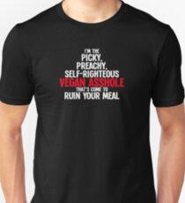 Vegan Asshole T-Shirt