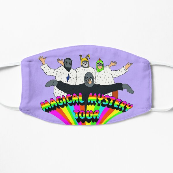magical mystery tour Flat Mask