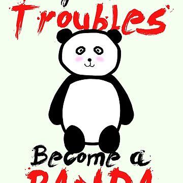 Motivational Panda by Gargusuz