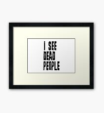Best Movie Quotes Framed Print