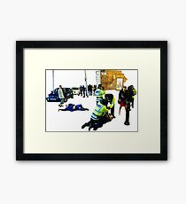 Creation Of Manchester - New Year 2016 Framed Print