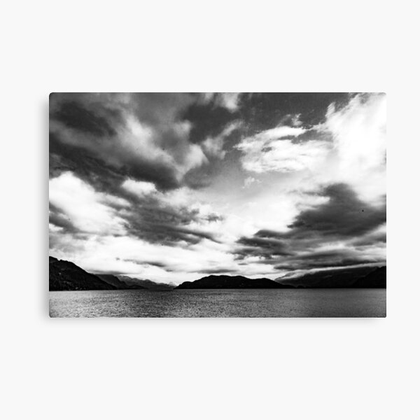 Moody sky over Harrison Lake Canvas Print