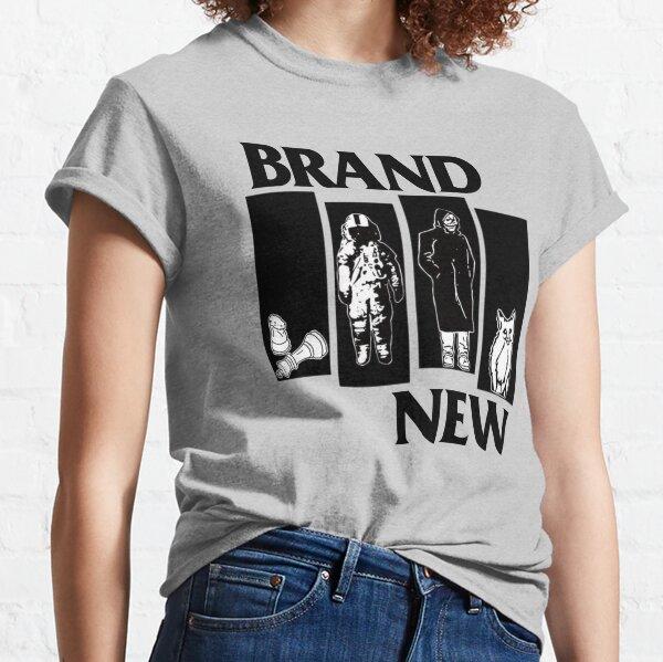 Brand New Black Flag Band Parody Crossover Classic T-Shirt