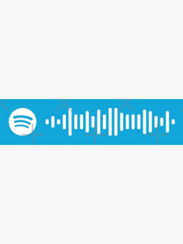 buddy holly - weezer song spotify scan code by bianeckaaa
