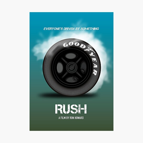 Rush - Alternative Movie Poster Photographic Print