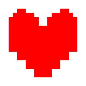 8-Bit Heart by fawtytwo