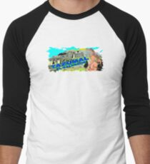 Tazumal Ruta Maya Baseball ¾ Sleeve T-Shirt