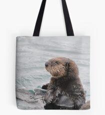 Sea otter pup Tote Bag