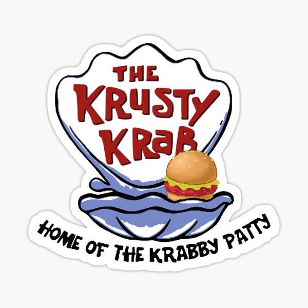 Krusty Krab Sticker