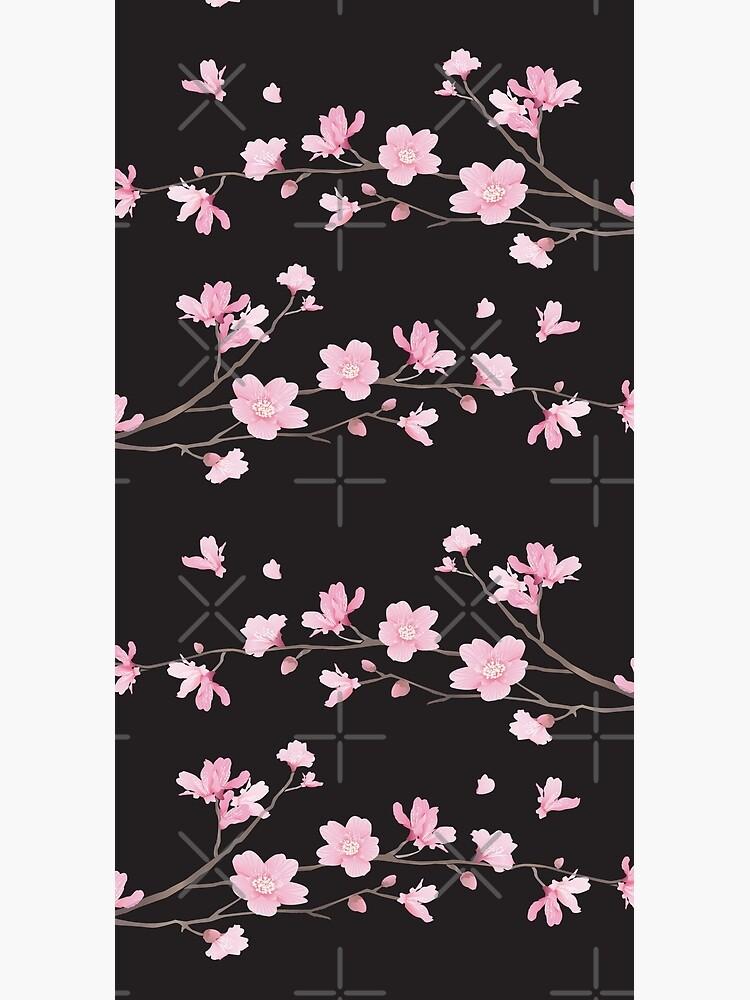 Cherry Blossom - Black by designenrich