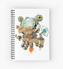 Codsworth - Two Centuries Late for Dinner Spiral Notebook