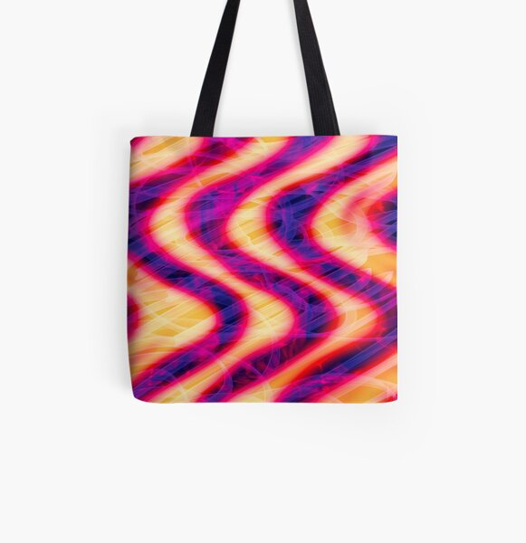 FlammaDistortia All Over Print Tote Bag