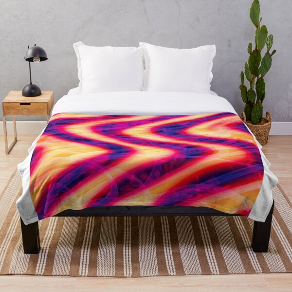 FlammaDistortia Throw Blanket