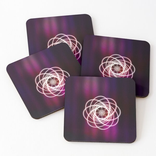Curtain Curl Coasters (Set of 4)