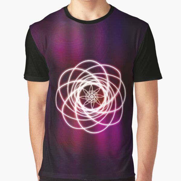 Curtain Curl Graphic T-Shirt
