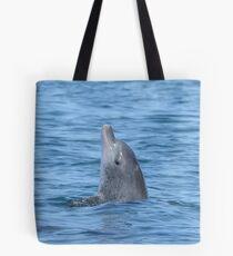 Bottlenose dolphin spy-hop Tote Bag