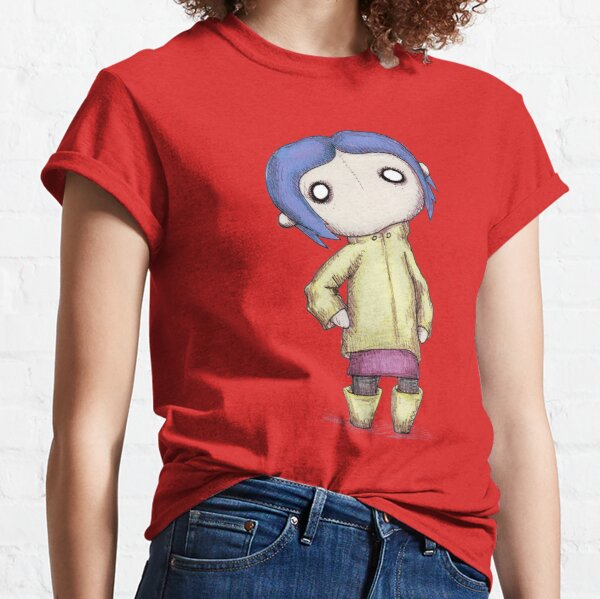 Coraline Women S T Shirts Tops Redbubble