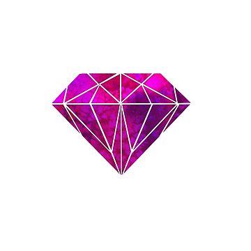 DIAMOND WATERCOLOR by paulam05