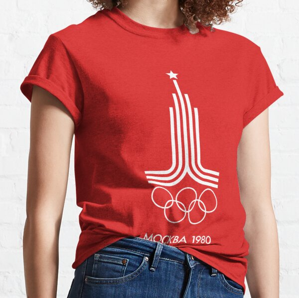 Moscow Olympics 1980  Classic T-Shirt