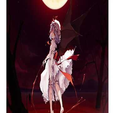 """Remilia Scarlet Blood Lake"" by ChefMeson"