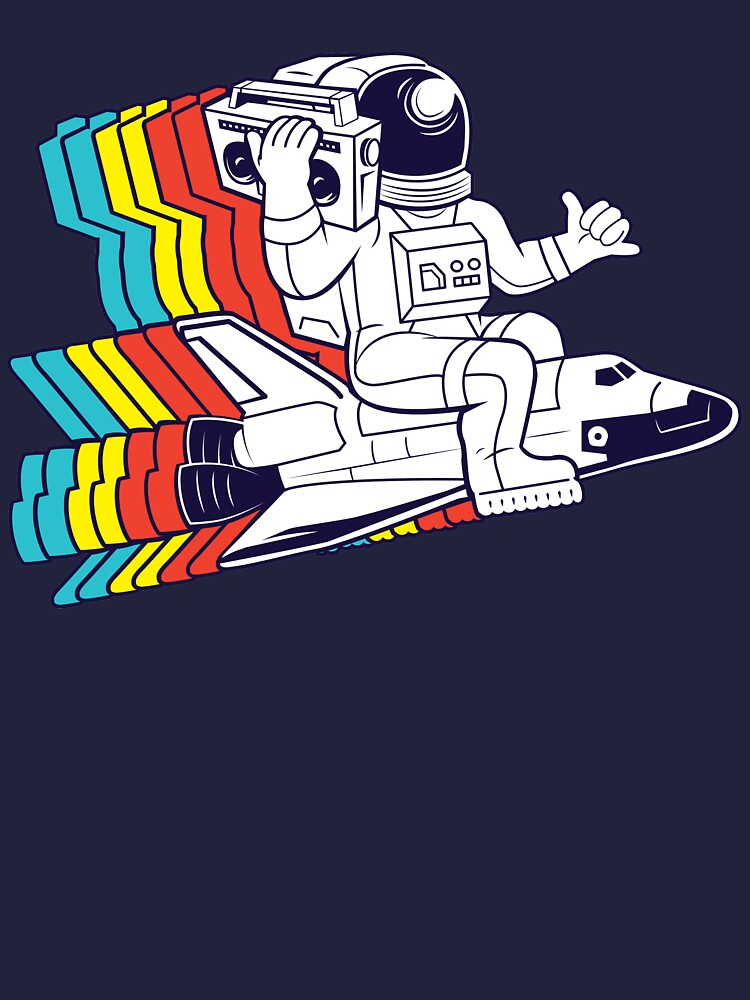 funky astronaut by cintrao