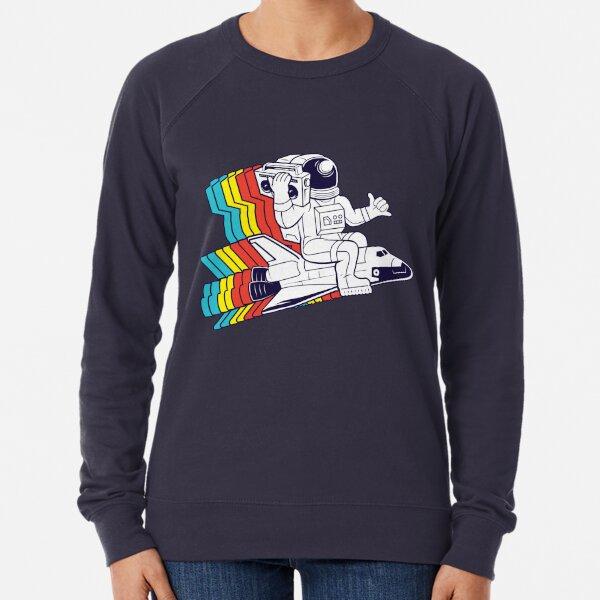 funky astronaut Lightweight Sweatshirt