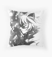 ML- Chat Noir  Throw Pillow