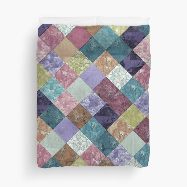 Abstract Geometric Background #27 Duvet Cover