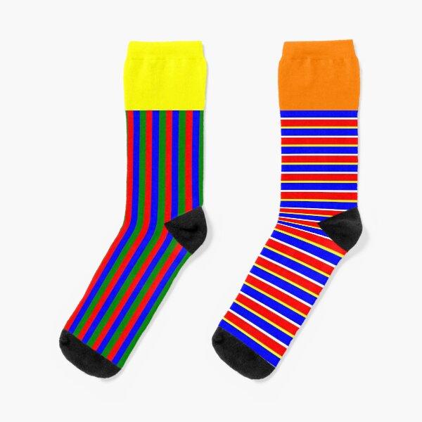 Abstract Bert & Ernie Socks
