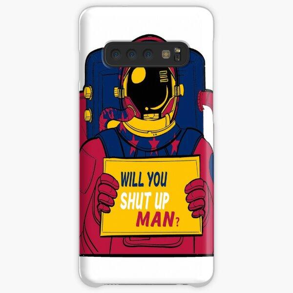 Will You Shut Up Man? Biden Astronaut Quote Classic T-Shirt Samsung Galaxy Snap Case