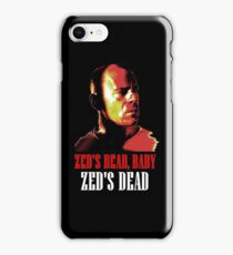 Zed is Dead - for dark shirts iPhone Case/Skin