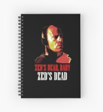 Zed is Dead - for dark shirts Spiral Notebook