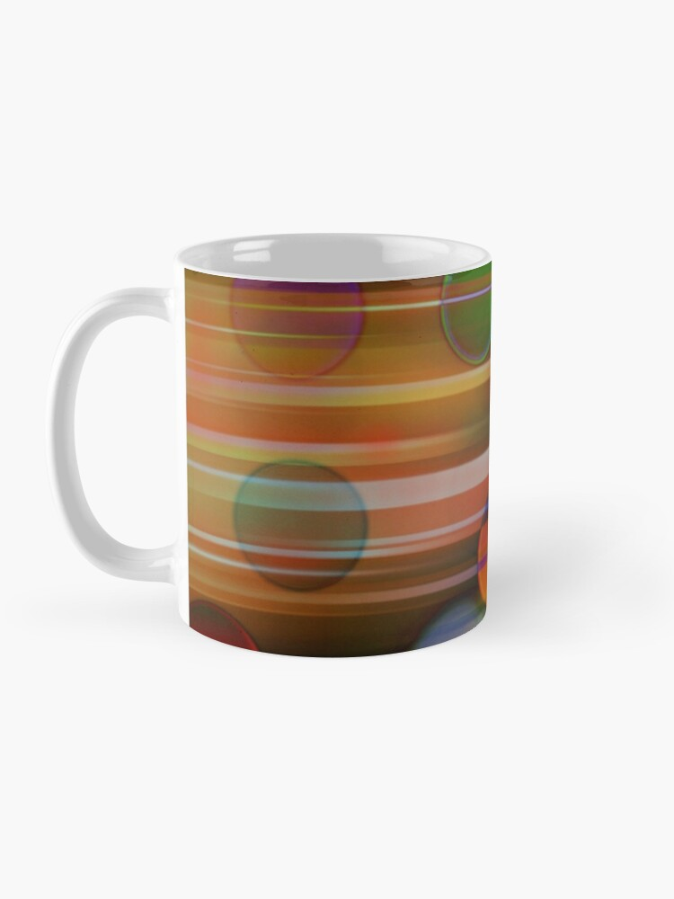 Alternate view of Speeding Bubbles Mask Abstraction Mug