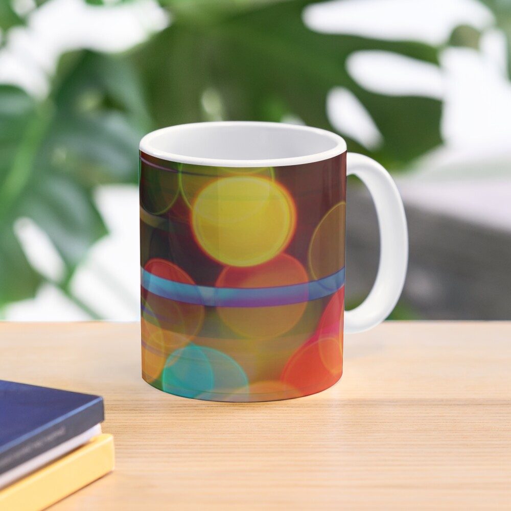 Speeding Bubbles Mask Abstraction Mug