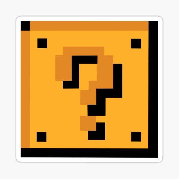 8-Bit Question Block Sticker