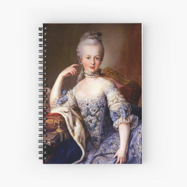 Portrait de Marie Antoinette - Martin van Meytens Cahier à spirale