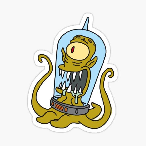 Simpsons Kang Sticker