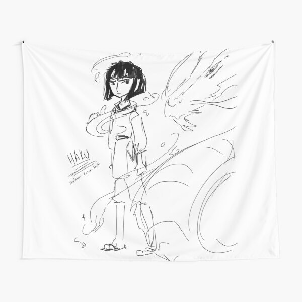 Haku Ink Tapestry